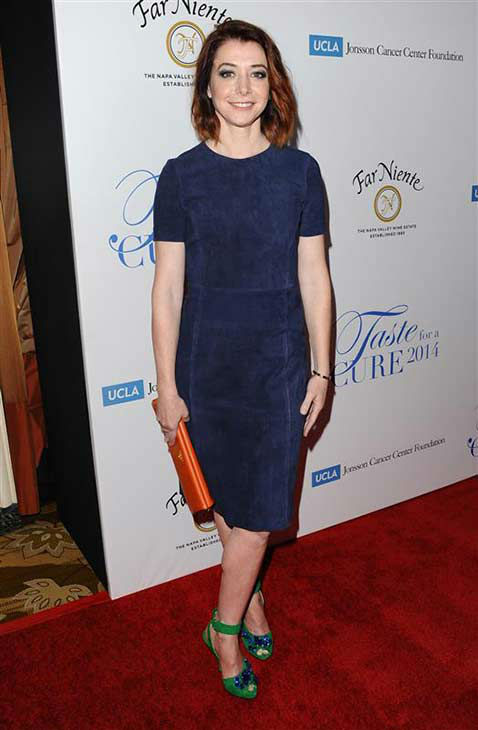 "<div class=""meta image-caption""><div class=""origin-logo origin-image ""><span></span></div><span class=""caption-text"">Alyson Hannigan of 'How I Met Your Mother' appears at the 19th annual 'Taste For A Cure' event in Los Angeles on April 25, 2014. (Sara De Boer / startraksphoto.com)</span></div>"