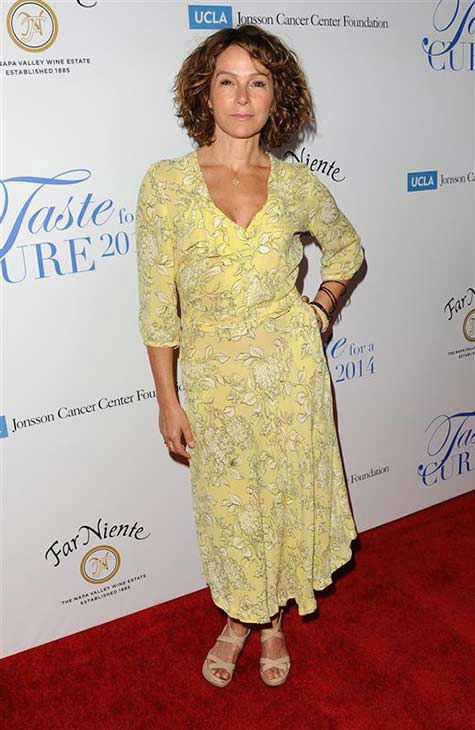 "<div class=""meta image-caption""><div class=""origin-logo origin-image ""><span></span></div><span class=""caption-text"">Jennifer Grey of 'Dirty Dancing' fame appears at the 19th annual 'Taste For A Cure' event in Los Angeles on April 25, 2014. (Sara De Boer / startraksphoto.com)</span></div>"