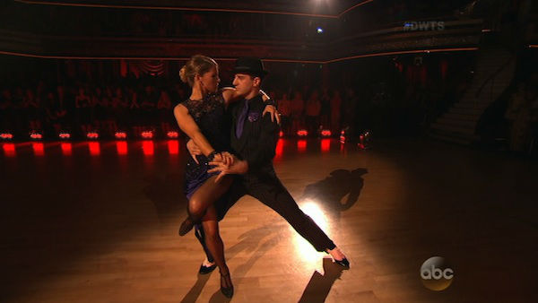 "<div class=""meta image-caption""><div class=""origin-logo origin-image ""><span></span></div><span class=""caption-text"">XCandace Cameron Bure and Mark Ballas perform the Argentine Tango on week seven of 'Dancing With The Stars' on April 28, 2014. They received 35 out of 40 points from the judges. The two also danced as part of team Loca and received 39 out of 40 points from the judges.</span></div>"