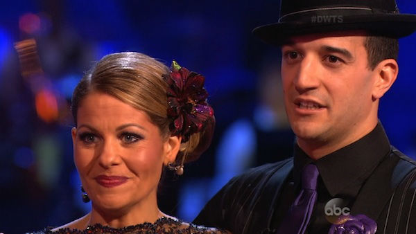 "<div class=""meta image-caption""><div class=""origin-logo origin-image ""><span></span></div><span class=""caption-text"">Candace Cameron Bure and Mark Ballas performed the Argentine Tango on week seven of 'Dancing With The Stars' on April 28, 2014. They received 35 out of 40 points from the judges. The two also danced as part of team Loca and received 39 out of 40 points from the judges.</span></div>"