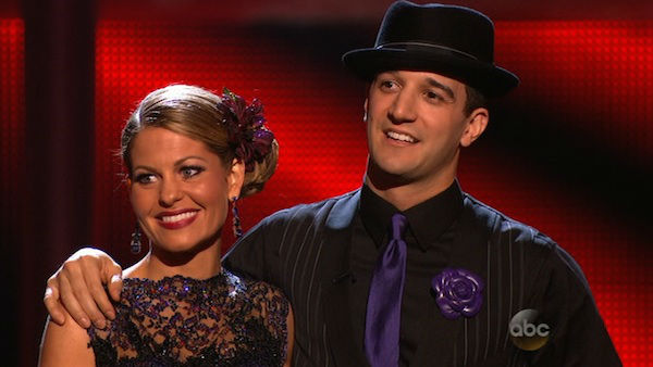 "<div class=""meta image-caption""><div class=""origin-logo origin-image ""><span></span></div><span class=""caption-text"">Candace Cameron Bure and Mark Ballas await their fate on week seven of 'Dancing With The Stars' on April 28, 2014. They received 35 out of 40 points from the judges for their Argentine Tango. The two also danced as part of team Loca and received 39 out of 40 points from the judges.</span></div>"