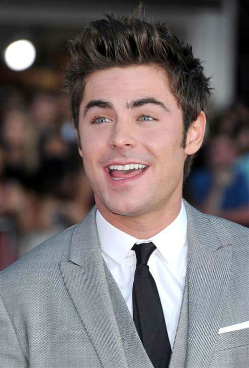 Zac Efron appears at the Los Angeles premiere of the comedy &#39;Neighbors&#39; on April 28, 2014. <span class=meta>(Hollywood Press &#47; startraksphoto.com)</span>