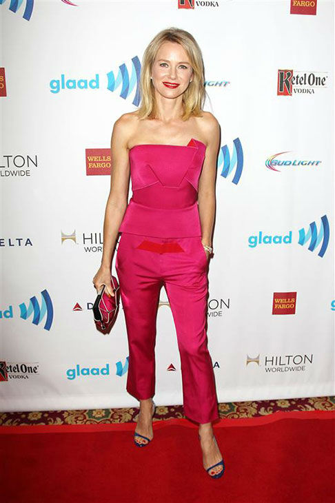 Naomi Watts appears at the 2014 GLAAD Media Awards in New York City on May 3, 2014. <span class=meta>(Kristina Bumphrey&#47;Startraksphoto.com)</span>