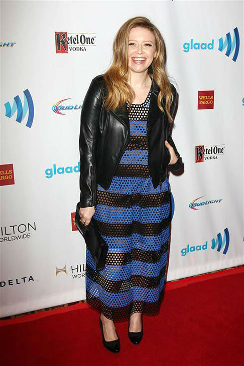 Natasha Lyonne appears at the 2014 GLAAD Media Awards in New York City on May 3, 2014. <span class=meta>(Kristina Bumphrey&#47;Startraksphoto.com)</span>