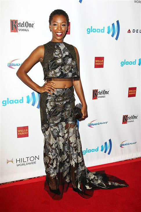"<div class=""meta ""><span class=""caption-text "">Samira Wiley appears at the 2014 GLAAD Media Awards in New York City on May 3, 2014. (Kristina Bumphrey/Startraksphoto.com)</span></div>"