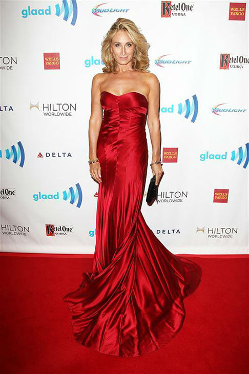 Sonja Morgan appears at the 2014 GLAAD Media Awards in New York City on May 3, 2014. <span class=meta>(Kristina Bumphrey&#47;Startraksphoto.com)</span>