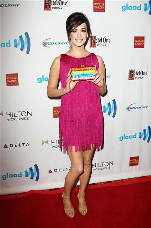 "<div class=""meta ""><span class=""caption-text "">Kacey Musgraves appears at the 2014 GLAAD Media Awards in New York City on May 3, 2014. (Kristina Bumphrey/Startraksphoto.com)</span></div>"