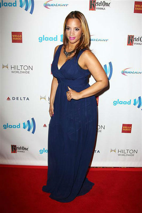 Dascha Polanco appears at the 2014 GLAAD Media Awards in New York City on May 3, 2014. <span class=meta>(Kristina Bumphrey&#47;Startraksphoto.com)</span>