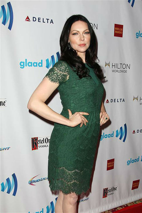 "<div class=""meta ""><span class=""caption-text "">Laura Prepon appears at the 2014 GLAAD Media Awards in New York City on May 3, 2014. (Kristina Bumphrey/Startraksphoto.com)</span></div>"