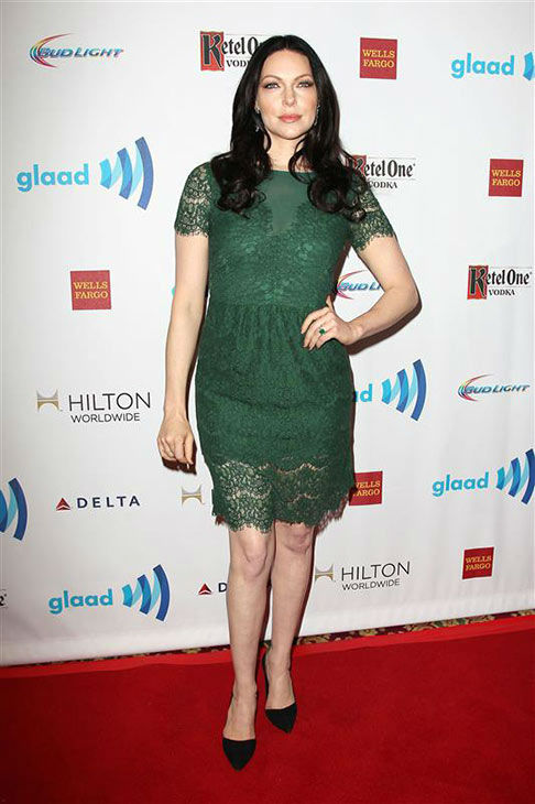 Laura Prepon appears at the 2014 GLAAD Media Awards in New York City on May 3, 2014. <span class=meta>(Kristina Bumphrey&#47;Startraksphoto.com)</span>