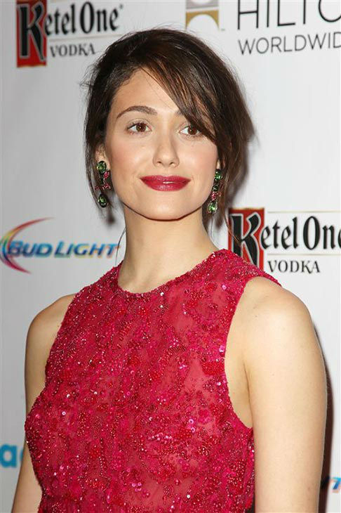 Emmy Rossum appears at the 2014 GLAAD Media Awards in New York City on May 3, 2014. <span class=meta>(Kristina Bumphrey&#47;Startraksphoto.com)</span>