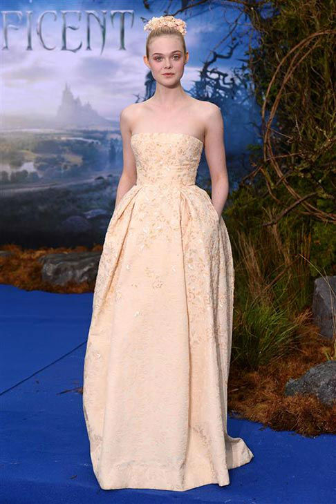 "<div class=""meta ""><span class=""caption-text "">Elle Fanning appears at the London premiere of 'Maleficent' on May 8, 2014.  (Nick Sadler/startraksphoto.com)</span></div>"