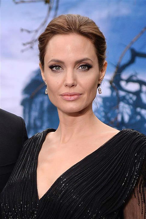 Angelina Jolie appears at the London premiere of &#39;Maleficent&#39; on May 8, 2014. <span class=meta>(Nick Sadler&#47;startraksphoto.com)</span>