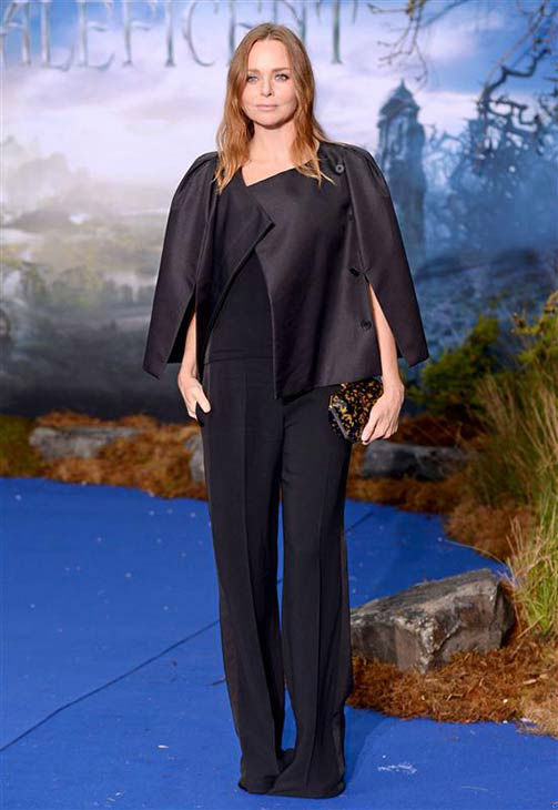 "<div class=""meta image-caption""><div class=""origin-logo origin-image ""><span></span></div><span class=""caption-text"">Stella McCartney appears at the London premiere of 'Maleficent' on May 8, 2014. (Nick Sadler/startraksphoto.com)</span></div>"