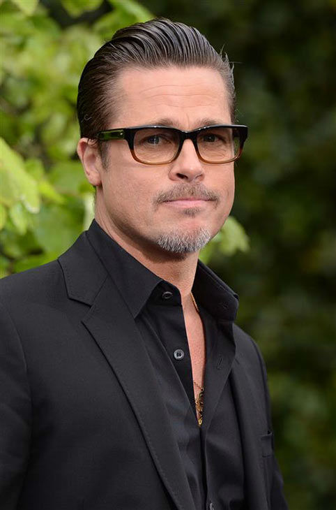 "<div class=""meta ""><span class=""caption-text "">Brad Pitt appears at the London premiere of 'Maleficent' on May 8, 2014. (Nick Sadler/startraksphoto.com)</span></div>"