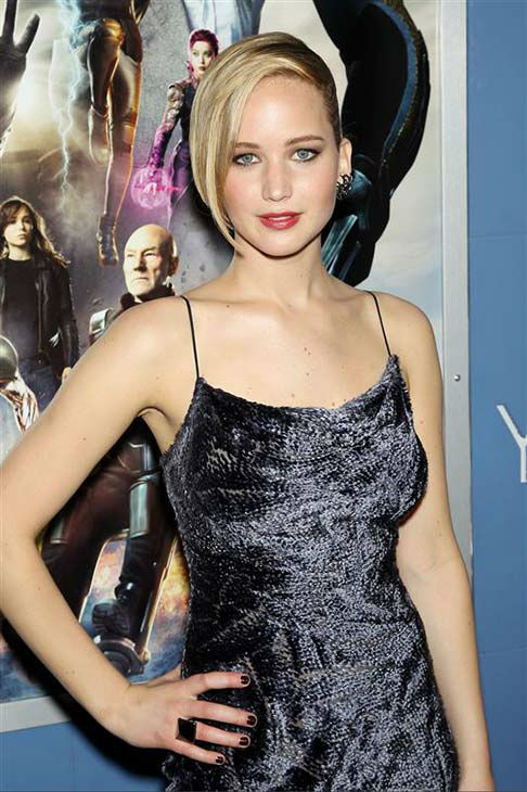 Jennifer Lawrence appears at the global premiere of &#39;X-Men: Days of Future Past&#39; in New York City on May 10, 2014. <span class=meta>(Marion Curtis&#47;Startraksphoto.com)</span>