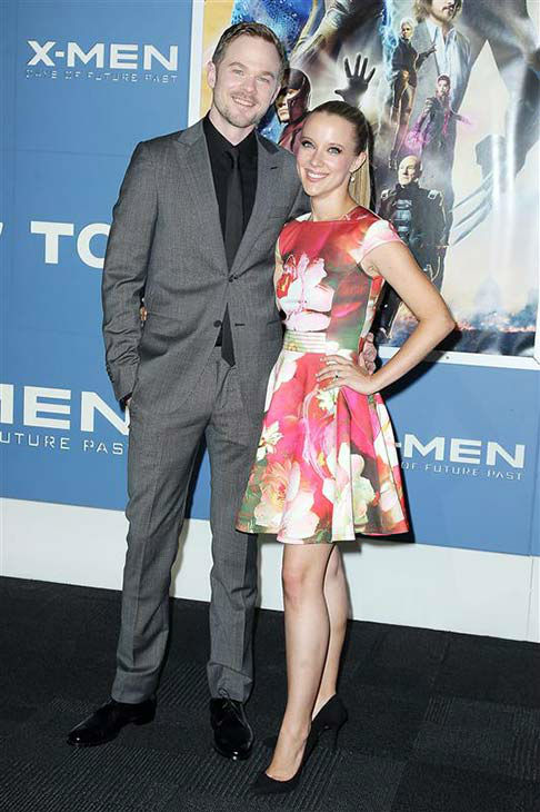 Shawn Ashmore and Dana Renee Wasdin appears at the global premiere of &#39;X-Men: Days of Future Past&#39; in New York City on May 10, 2014. <span class=meta>(Amanda Schwab&#47;Startraksphoto.com)</span>