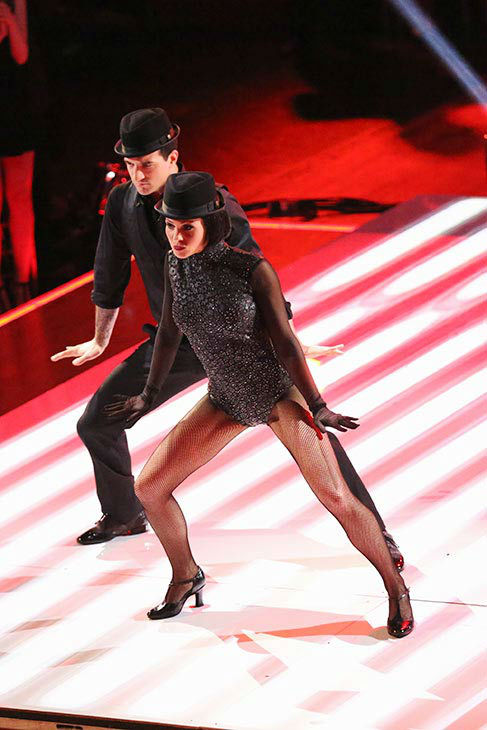Candace Cameron Bure and Mark Ballas perform a Jazz routine on week nine of &#39;Dancing With The Stars&#39; on May 12, 2014. They received 38 out of 40 points from the judges. The pair also received 34 out of 40 points for their Viennese Waltz. <span class=meta>(ABC Photo&#47; Adam Taylor)</span>