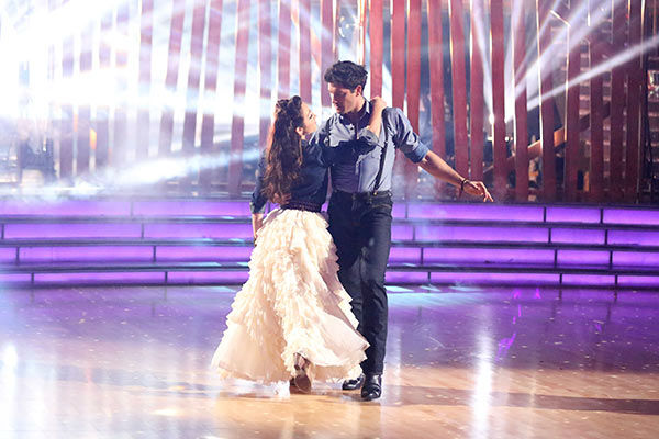 "<div class=""meta ""><span class=""caption-text "">Meryl Davis and Maksim Chmerkovskiy dance the Viennese Waltz on week nine of 'Dancing With The Stars' on May 12, 2014. They received 40 out of 40 points from the judges. The pair also received 40 out of 40 points for their Jive. (ABC Photo/ Adam Taylor)</span></div>"