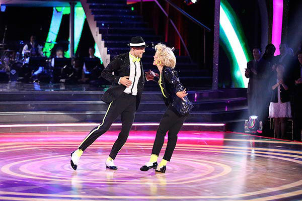 James Maslow and Peta Murgatroyd dance the Cha Cha Cha on week nine of &#39;Dancing With The Stars&#39; on May 12, 2014. They received 40 out of 40 points from the judges. The pair also received 36 out of 40 points for their Rumba. <span class=meta>(ABC Photo&#47; Adam Taylor)</span>