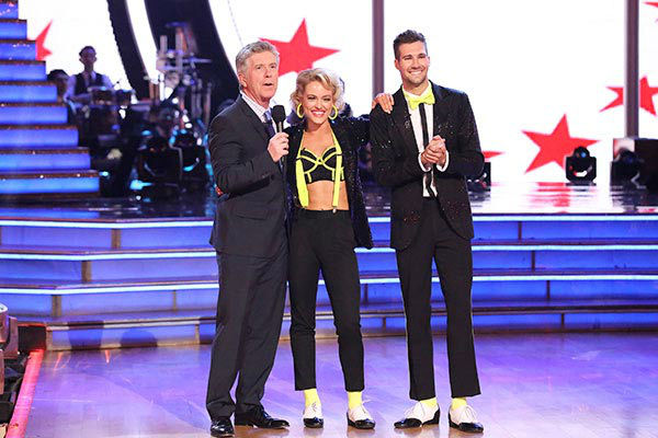 James Maslow and Peta Murgatroyd danced the Cha Cha Cha on week nine of &#39;Dancing With The Stars&#39; on May 12, 2014. They received 40 out of 40 points from the judges. The pair also received 36 out of 40 points for their Rumba. <span class=meta>(ABC Photo&#47; Adam Taylor)</span>