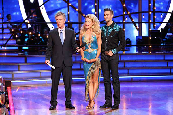 James Maslow and Peta Murgatroyd danced the Rumba on week nine of &#39;Dancing With The Stars&#39; on May 12, 2014. They received 36 out of 40 points from the judges. The pair also received 40 out of 40 points for their Cha Cha Cha. <span class=meta>(ABC Photo&#47; Adam Taylor)</span>