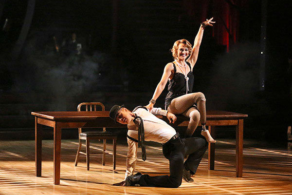 "<div class=""meta ""><span class=""caption-text "">Amy Purdy and Derek Hough perform a Jazz routine on week nine of 'Dancing With The Stars' on May 12, 2014. They received 39 out of 40 points from the judges. The pair also received 39 out of 40 points for their Quickstep. (ABC Photo/ Adam Taylor)</span></div>"