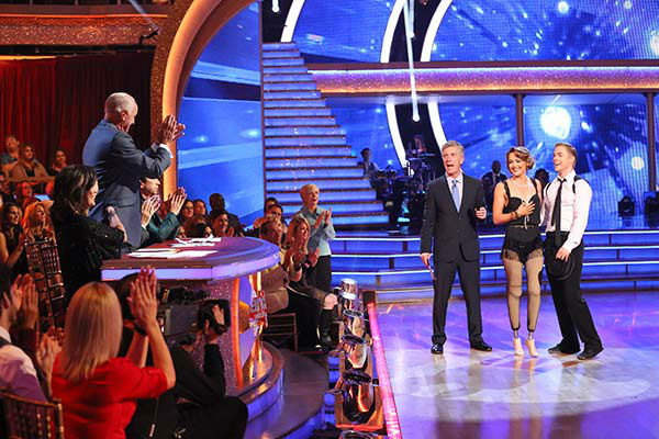 Amy Purdy and Derek Hough performed a Jazz routine on week nine of &#39;Dancing With The Stars&#39; on May 12, 2014. They received 39 out of 40 points from the judges. The pair also received 39 out of 40 points for their Quickstep. <span class=meta>(ABC Photo&#47; Adam Taylor)</span>