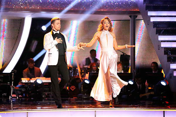 Amy Purdy and Derek Hough dance the Quickstep on week nine of &#39;Dancing With The Stars&#39; on May 12, 2014. They received 39 out of 40 points from the judges. The pair also received 39 out of 40 points for their Jazz routine. <span class=meta>(ABC Photo&#47; Adam Taylor)</span>