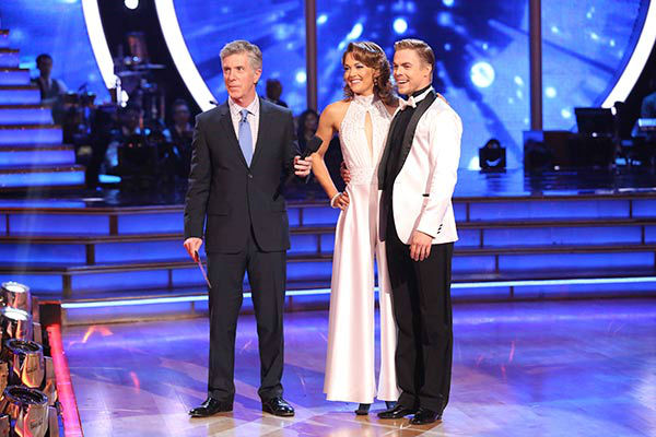 Amy Purdy and Derek Hough danced the Quickstep on week nine of &#39;Dancing With The Stars&#39; on May 12, 2014. They received 39 out of 40 points from the judges. The pair also received 39 out of 40 points for their Jazz routine. <span class=meta>(ABC Photo&#47; Adam Taylor)</span>