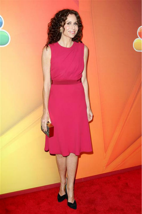 Minnie Driver, star of the NBC show &#39;About a Boy,&#39; appears at the network&#39;s 2014 Upfront presentation in New York on May 12, 2014. <span class=meta>(Kristina Bumphrey &#47; Startraksphoto.com)</span>