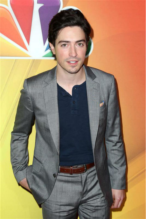 "<div class=""meta ""><span class=""caption-text "">Ben Feldman of AMC's 'Mad Men' fame, appears at NBC's 2014 Upfront presentation in New York on May 12, 2014. The actor, also recently seen in HBO's 'Silicon Valley,' stars in the new NBC comedy series 'A To Z.' (Amanda Schwab / Startraksphoto.com)</span></div>"
