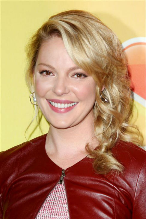 "<div class=""meta image-caption""><div class=""origin-logo origin-image ""><span></span></div><span class=""caption-text"">Katherine Heigl appears at NBC's 2014 Upfront presentation in New York on May 12, 2014. The former star of ABC's 'Grey's Anatomy' and 'Knocked Up' and '27 Dresses' actress returns to TV as the star of the new NBC series 'State of Affairs.' The show is set to premiere in November.  (Amanda Schwab / Startraksphoto.com)</span></div>"