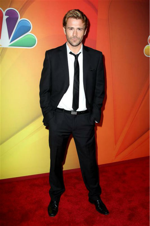 Matt Walsh appears at NBC&#39;s 2014 Upfront presentation in New York on May 12, 2014. The Welsh actor stars in the new NBC series &#39;Constantine.&#39; <span class=meta>(Amanda Schwab &#47; Startraksphoto.com)</span>
