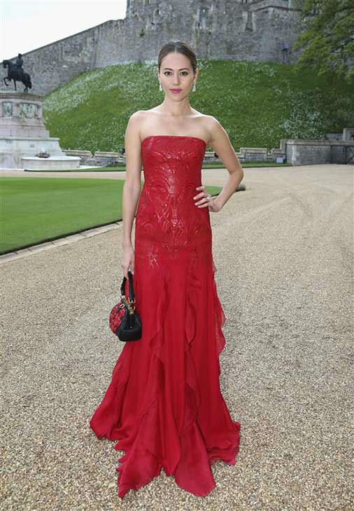 Jessica Michibata arrives for a dinner to celebrate the work of The Royal Marsden hosted by the Duke of Cambridge at Windsor Castle Tuesday May 13, 2014 in Windsor, England.  <span class=meta>(Rex Features&#47;startraksphoto.com)</span>