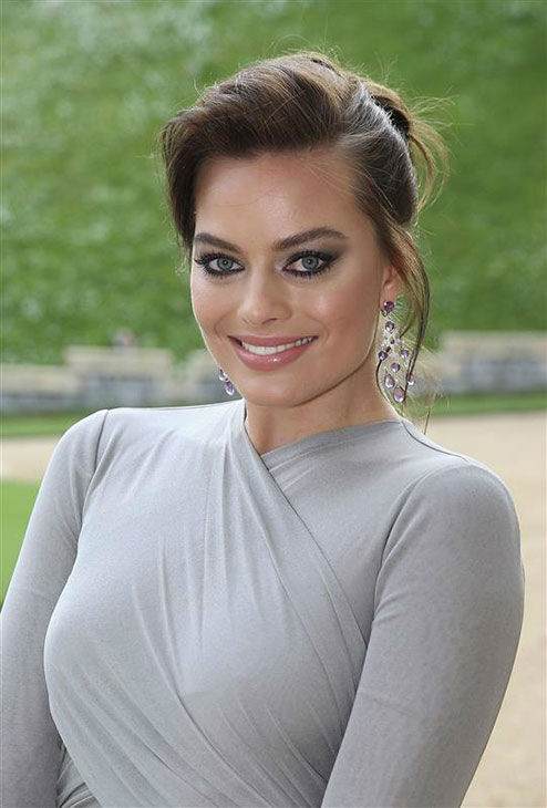 Margot Robbie arrives for a dinner to celebrate the work of The Royal Marsden hosted by the Duke of Cambridge at Windsor Castle Tuesday May 13, 2014 in Windsor, England.  <span class=meta>(Rex Features&#47;startraksphoto.com)</span>