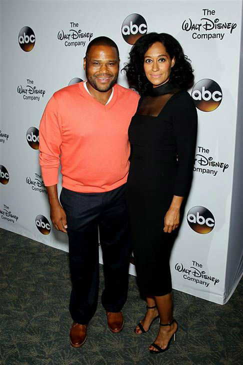 &#39;Black-ish&#39; co-stars Anthony Anderson and Tracee Ellis Ross attend &#39;A Celebration of Barbara Walters&#39; on May 14, 2014 in New York City.  <span class=meta>(Marion Curtis&#47;Startraksphoto.com)</span>