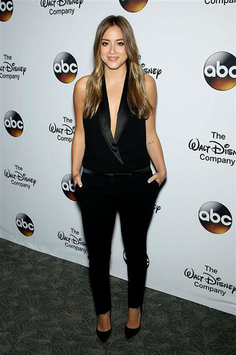 "<div class=""meta image-caption""><div class=""origin-logo origin-image ""><span></span></div><span class=""caption-text"">'Agents of S.H.I.E.L.D' star Chloe Bennet attends 'A Celebration of Barbara Walters' on May 14, 2014 in New York City.  (Marion Curtis/Startraksphoto.com)</span></div>"