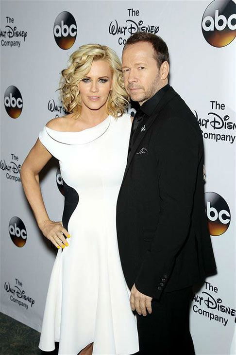 "<div class=""meta ""><span class=""caption-text "">Jenny McCarthy and fiance Donnie Wahlberg attend 'A Celebration of Barbara Walters' on May 14, 2014 in New York City.  (Marion Curtis/Startraksphoto.com)</span></div>"