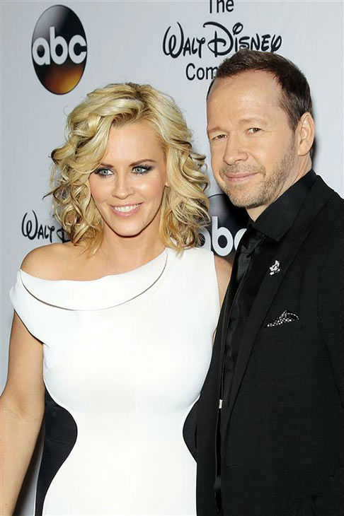 "<div class=""meta image-caption""><div class=""origin-logo origin-image ""><span></span></div><span class=""caption-text"">Jenny McCarthy and fiance Donnie Wahlberg attend 'A Celebration of Barbara Walters' on May 14, 2014 in New York City.  (Marion Curtis/Startraksphoto.com)</span></div>"