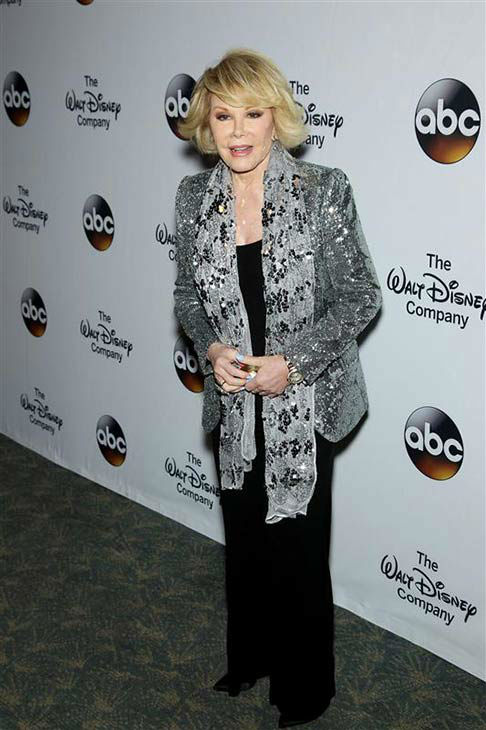 "<div class=""meta ""><span class=""caption-text "">Joan Rivers attends 'A Celebration of Barbara Walters' on May 14, 2014 in New York City.  (Marion Curtis/Startraksphoto.com)</span></div>"