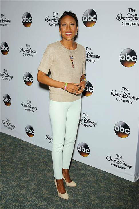 "<div class=""meta ""><span class=""caption-text "">Robin Roberts attends 'A Celebration of Barbara Walters' on May 14, 2014 in New York City.  (Marion Curtis/Startraksphoto.com)</span></div>"