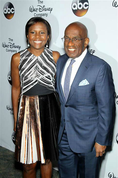 "<div class=""meta ""><span class=""caption-text "">Deborah Roberts and husband Al Roker attend 'A Celebration of Barbara Walters' on May 14, 2014 in New York City.  (Marion Curtis/Startraksphoto.com)</span></div>"
