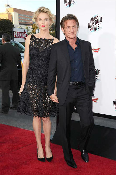 Charlize Theron and Sean Penn appear at the Los Angeles premiere of &#39;A Million Ways to Die in the West&#39; on May 15, 2014. <span class=meta>(Sara De Boer&#47;startraksphoto.com)</span>