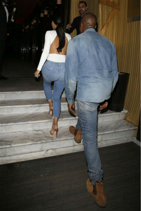 "<div class=""meta ""><span class=""caption-text "">Kim Kardashian and Kanye West enter their hotel in Paris on May 18, 2014. (Beretta / Sims / REX / Startraksphoto.com)</span></div>"