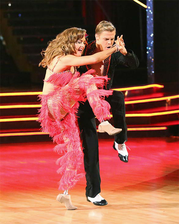 "<div class=""meta ""><span class=""caption-text "">Amy Purdy and Derek Hough dance the Salsa on week 10 of 'Dancing With The Stars' on May 19, 2014. They received 30 out of 30 points from the judges. The pair also received 29 out of 30 points for their Freestyle. (ABC/Adam Taylor)</span></div>"