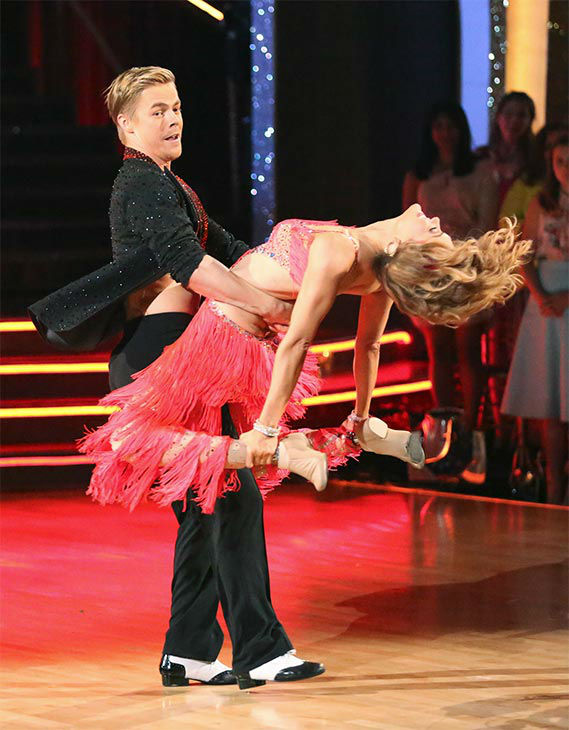 "<div class=""meta image-caption""><div class=""origin-logo origin-image ""><span></span></div><span class=""caption-text"">Amy Purdy and Derek Hough dance the Salsa on week 10 of 'Dancing With The Stars' on May 19, 2014. They received 30 out of 30 points from the judges. The pair also received 29 out of 30 points for their Freestyle. (ABC/Adam Taylor)</span></div>"