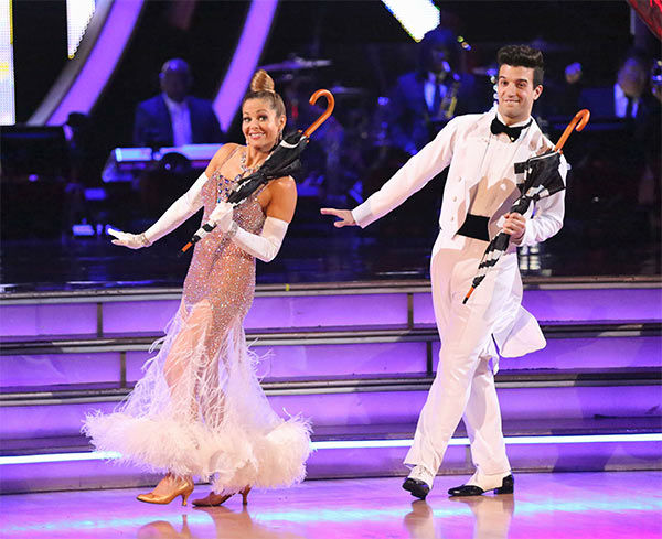 Candace Cameron Bure and Mark Ballas dance the Quickstep on week 10 of &#39;Dancing With The Stars&#39; on May 19, 2014. They received 27 out of 30 points from the judges. The pair also received 24 out of 30 points for their Freestyle. <span class=meta>(ABC&#47;Adam Taylor)</span>