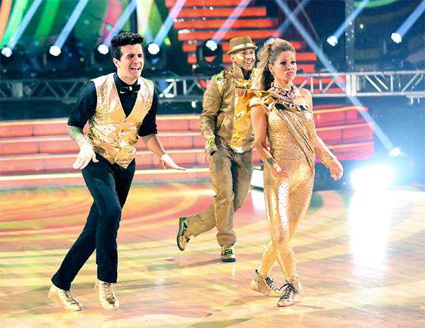 Candace Cameron Bure and Mark Ballas perform a Freestyle routine on week 10 of &#39;Dancing With The Stars&#39; on May 19, 2014. They received 24 out of 30 points from the judges. The pair also received 27 out of 30 points for their Quickstep. <span class=meta>(ABC&#47;Adam Taylor)</span>