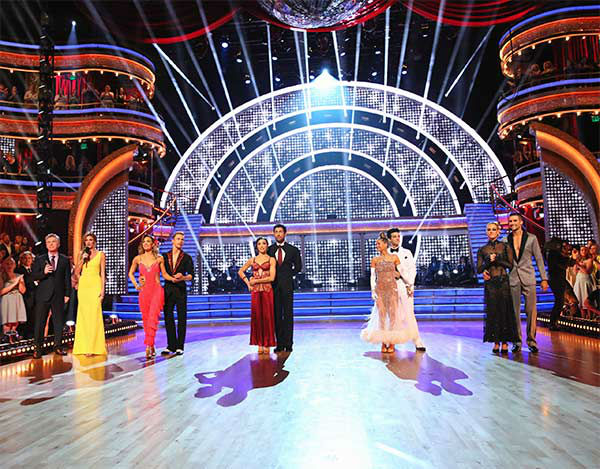 The cast of &#39;Dancing With The Stars&#39; season 18 appear in a still from the first part of the finals on May 19, 2014. <span class=meta>(ABC&#47;Adam Taylor)</span>